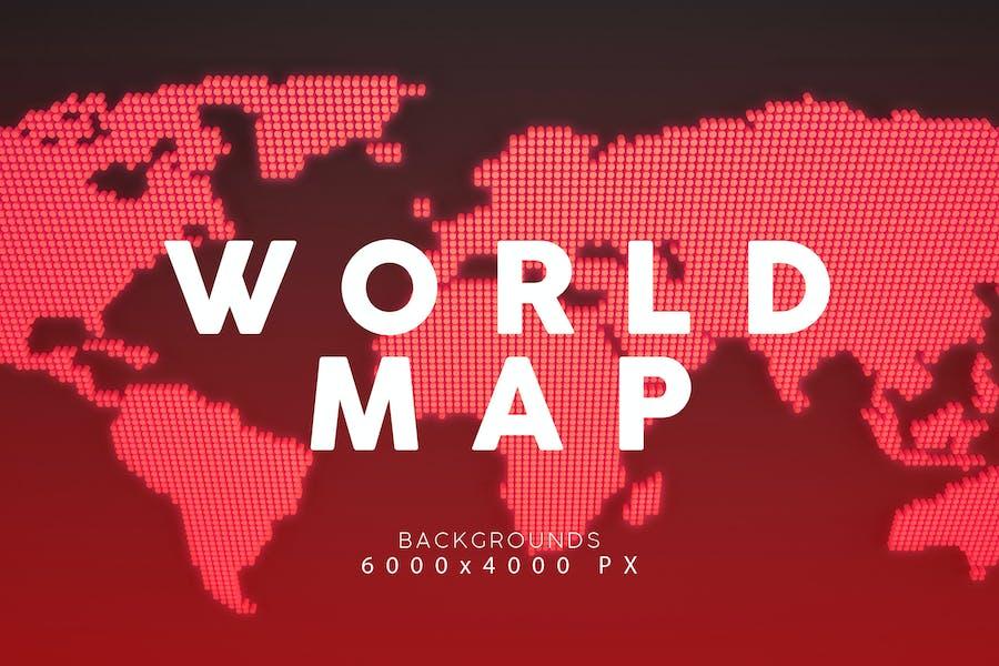 Weltkarte Hintergründe