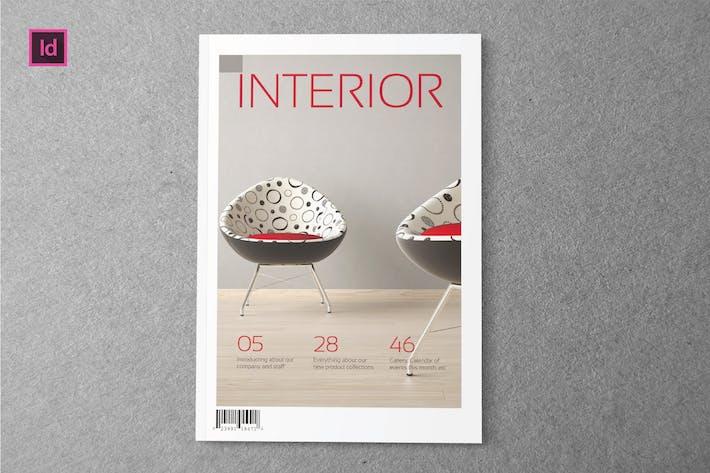 Thumbnail for INTERIOR - Magazine Template
