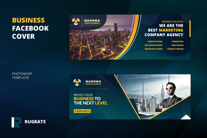 Thumbnail for Business R6 Facebook-AbdeckVorlage