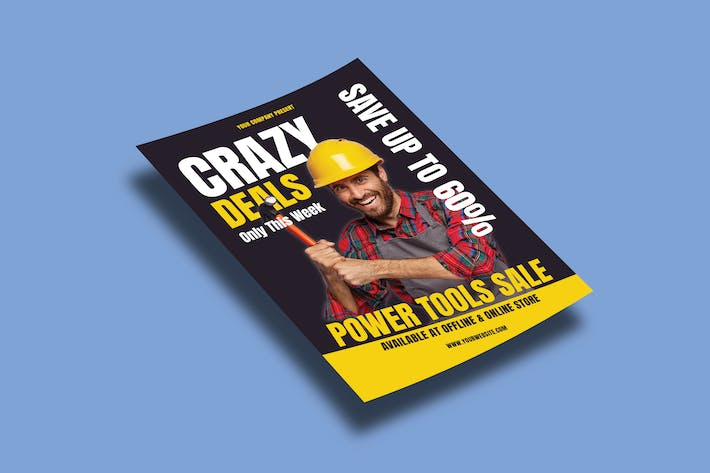 Crazy Deals – Flyers Template