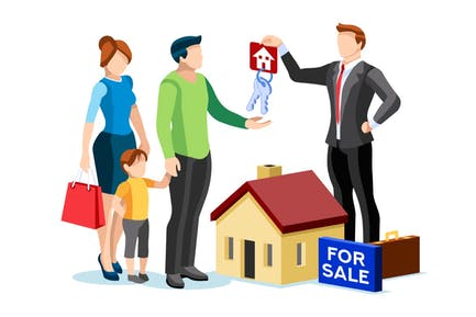 Buy Credit Concept Ownership Insurance