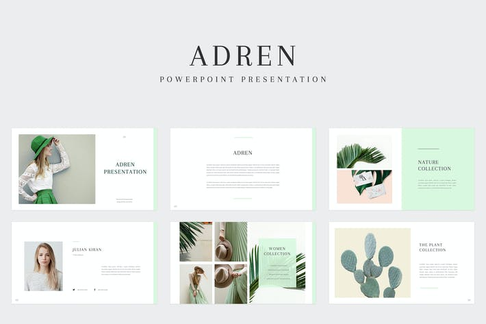 Thumbnail for Adren - Powerpoint Template