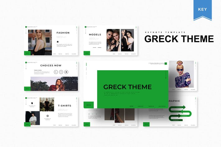 Thumbnail for Greck Theme | Keynote Template