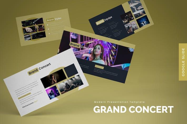 Grand Concert - Google Slides Template