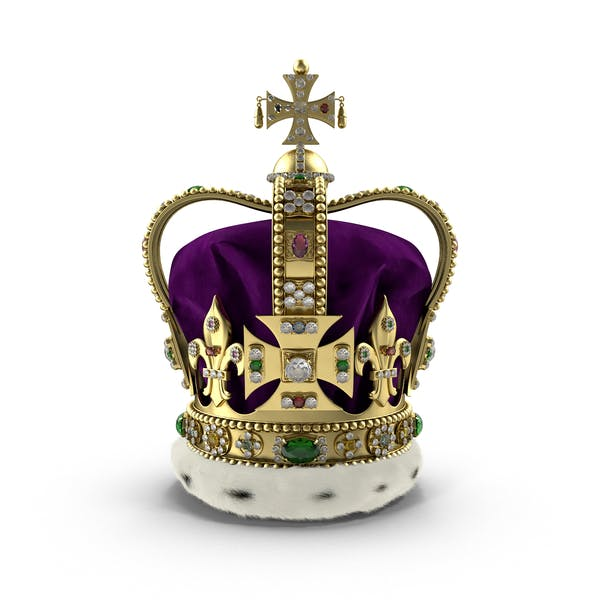 St Edwards Crown with Fur