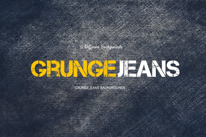 Thumbnail for Grunge Jeans Backgrounds