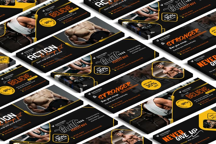 Cover Image For Fitness, Yoga Facebook Cover