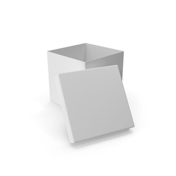Cover Image for Белая квадратная картонная коробка