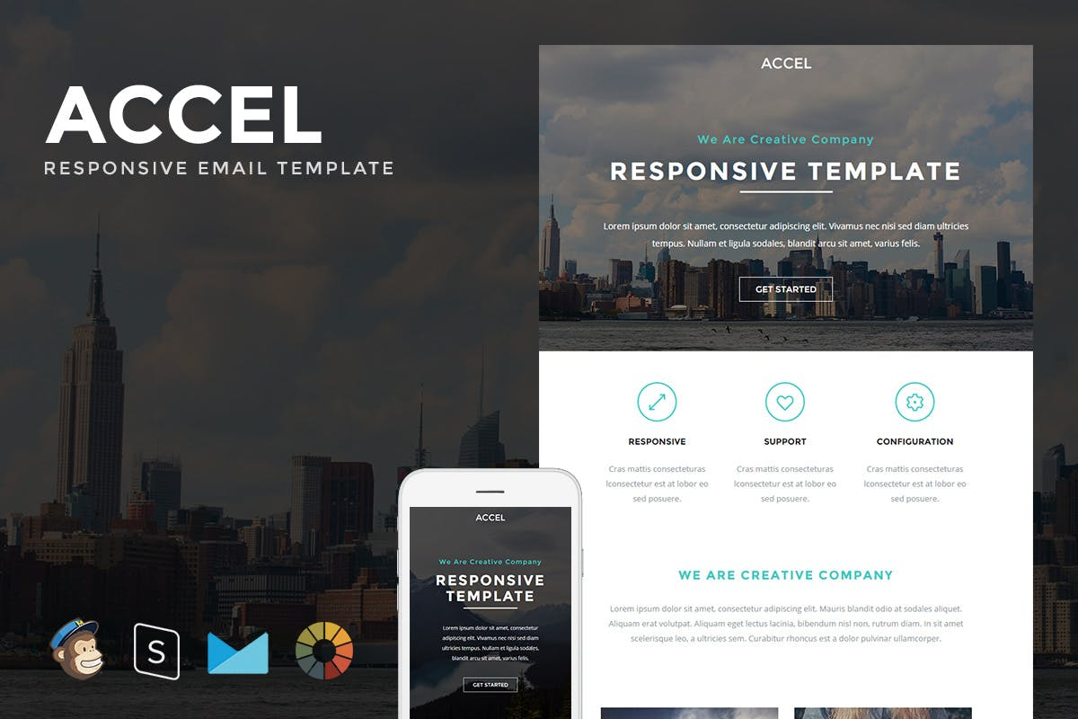 Maverick - Responsive Email + StampReady Builder by LEVELII on ...