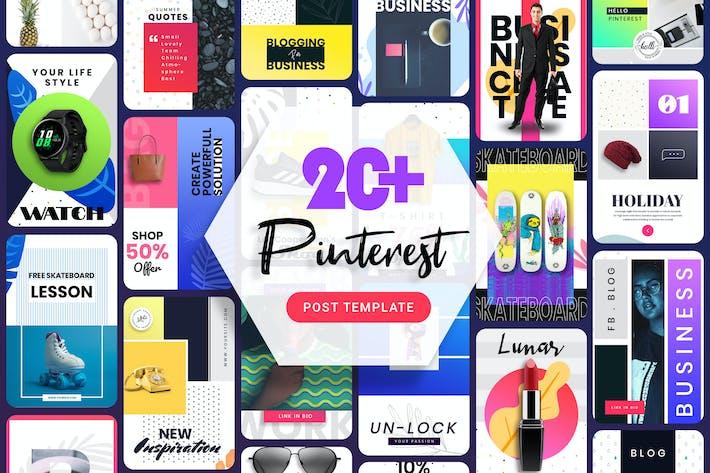 Thumbnail for Pinterest Post Template