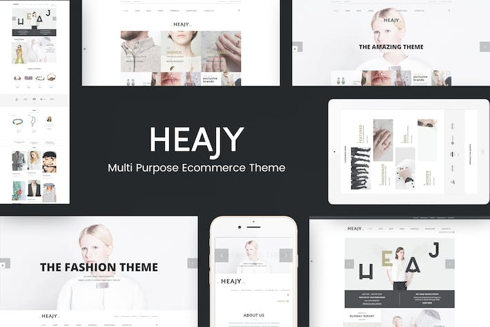 Thumbnail for Heajy - Handmade Fashion WordPress Theme
