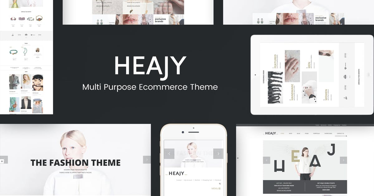 Download Heajy - Handmade Fashion WordPress Theme by roadthemes