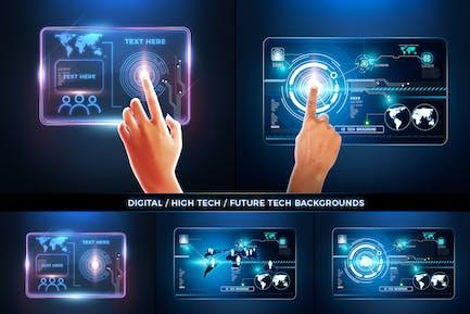 Antecedentes técnicos del futuro digital
