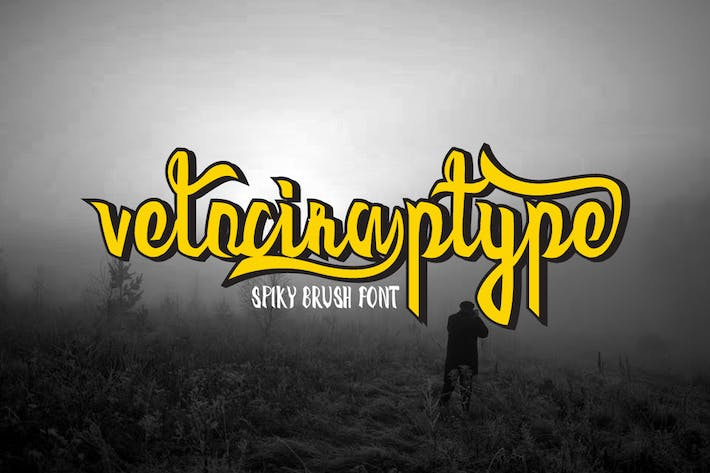 Cover Image For Velociraptype Font