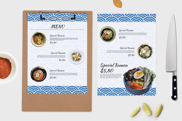 Ramen – Food Menu Template