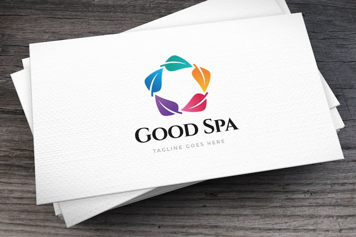 Thumbnail for Good Spa Logo Template