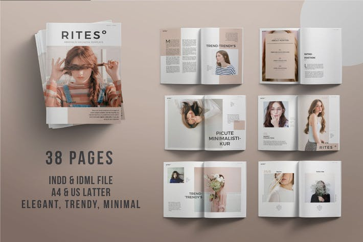 Thumbnail for RITES Magazine Template