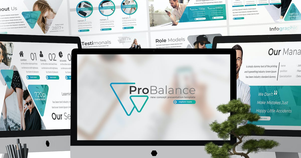 Download Probalance - Powerpoint Template by aqrstudio