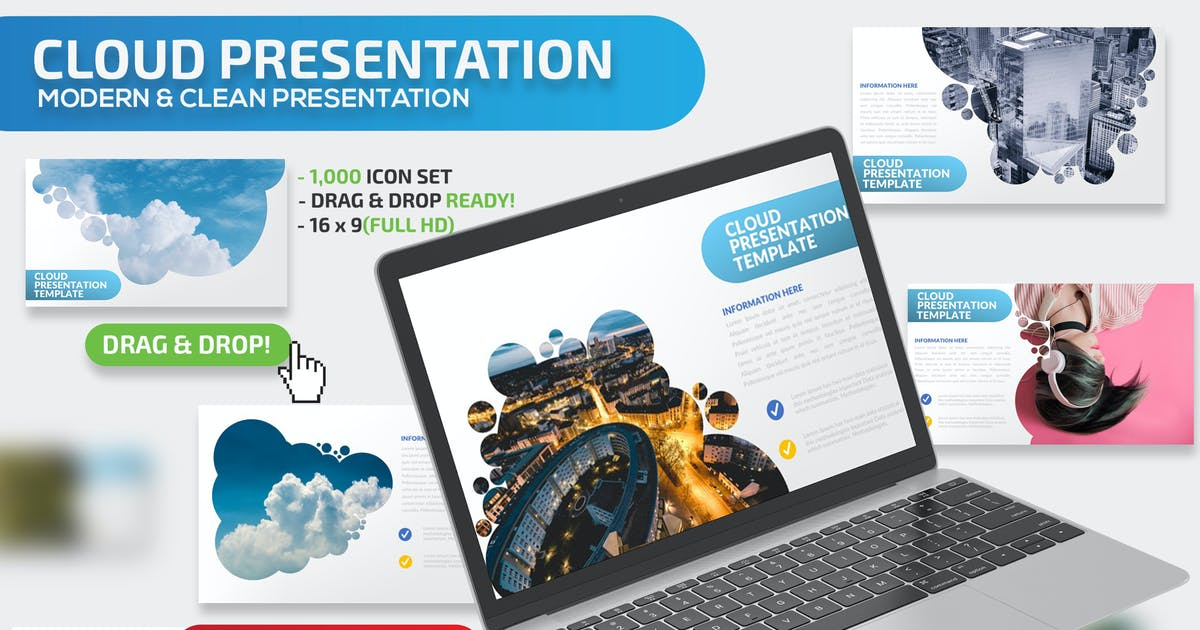 Download Cloud Powerpoint Presentation by mamanamsai