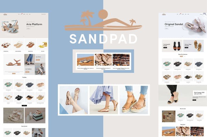 Thumbnail for Sandpad - Sandals And Footwear Shoes Shopify Theme