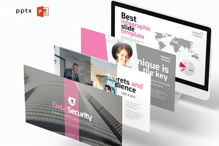 Thumbnail for DATA SECURITY - Powerpoint V452