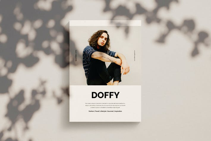 Thumbnail for Doffy - Magazine Template