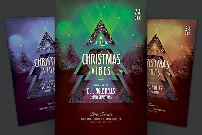 Cover Image For Christmas Vibes Flyer