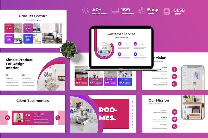 Thumbnail for Roomes - Business Google Slides Presentation