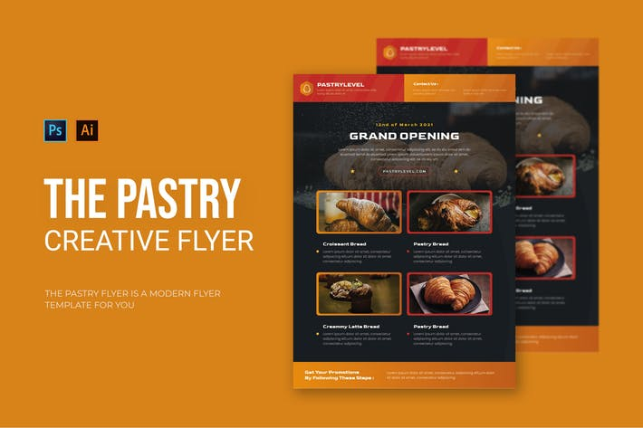 Pastry - Flyer