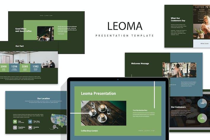 Thumbnail for Leoma: Keynote кофейни