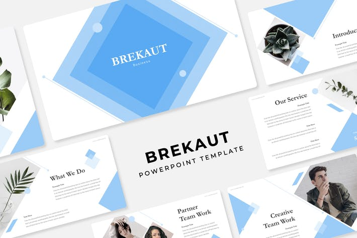 Thumbnail for Brekaut - PowerPoint Template