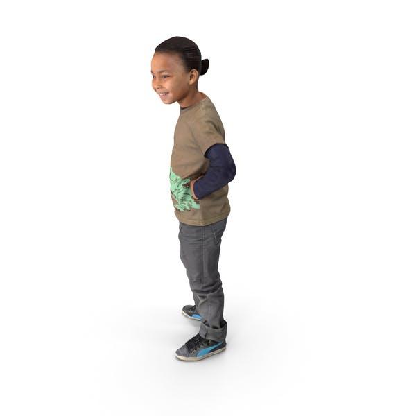 Child Posed
