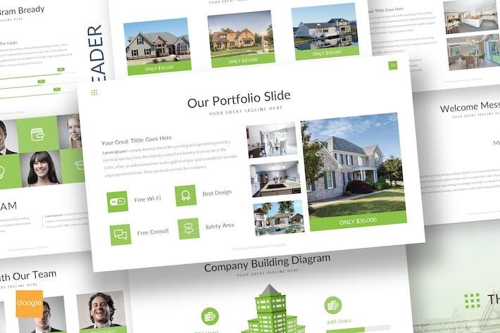 Thumbnail for The Estate - Google Slides Template