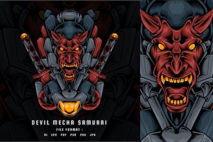Devil Mecha Samurai