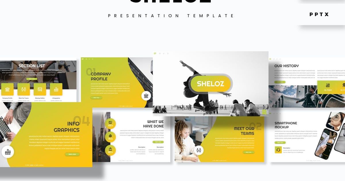 Download Sheloz - Presentation Template by aqrstudio