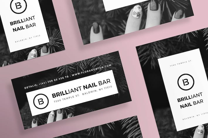 Thumbnail for Nail Salon Flyer and Poster Template