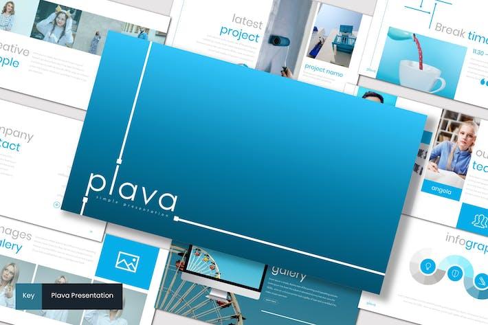 Thumbnail for Plava - Keynote Template