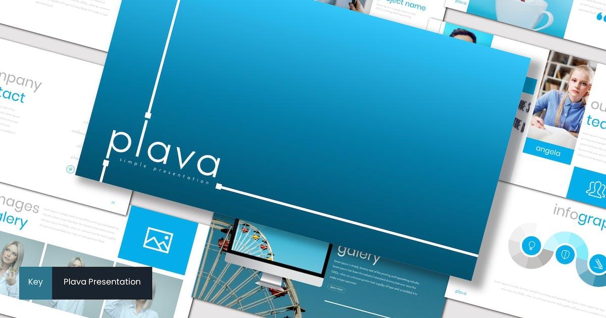 Download Plava - Keynote Template by inspirasign