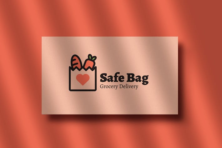 Thumbnail for Safe Bag Grocery Delivery Logo