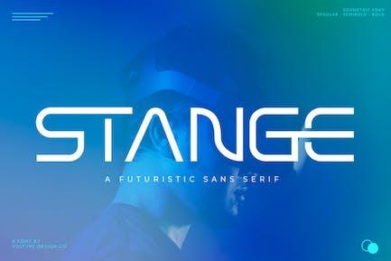 STANGE - Modern Futuristic Font