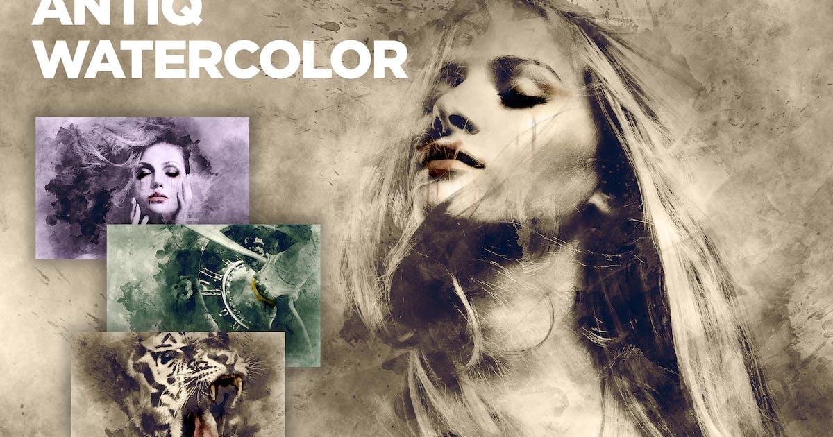 Download Antiq Watercolor CS3+ Photoshop Action by FD-Design