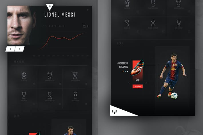 Thumbnail for Soccer Player Market Value Website