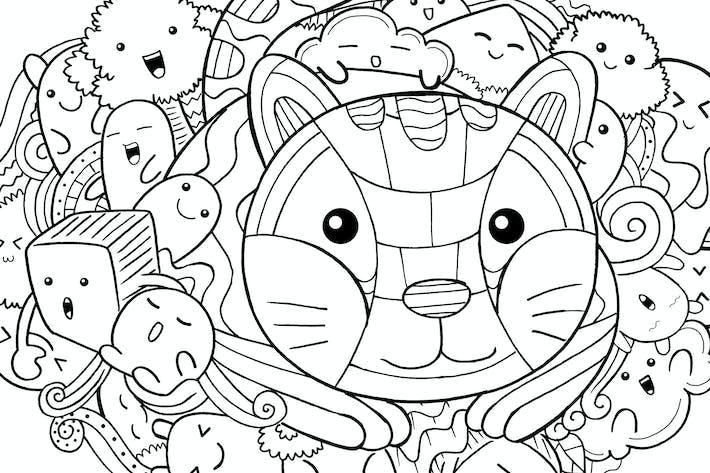 Thumbnail for Cat Doodle