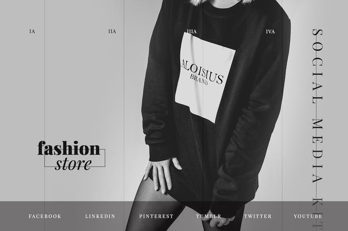 Thumbnail for Fashion Store – Social Media Kit