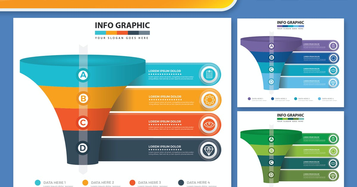 Download Funnel Infographics design by mamanamsai