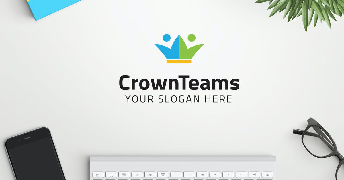 Download CrownTeams professional logo by ovozdigital