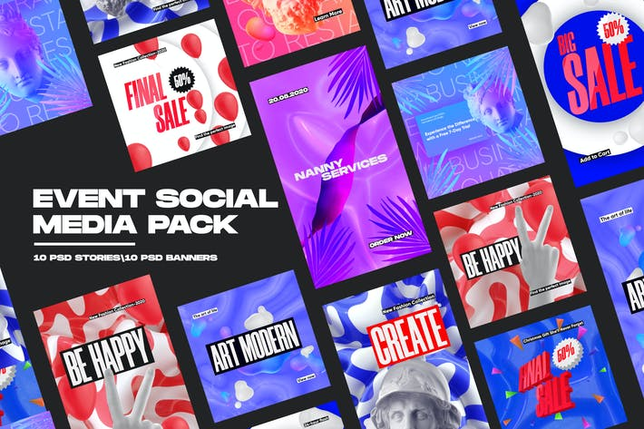 Thumbnail for Event Social Media Pack