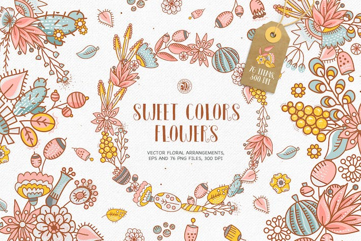 Thumbnail for Sweet Colors Flowers