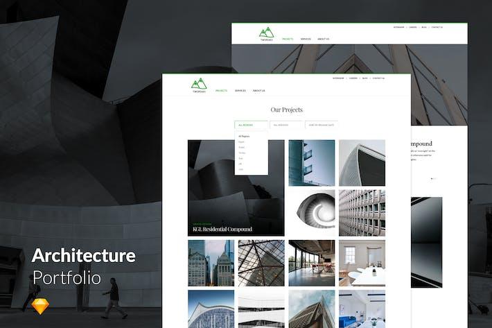Thumbnail for Clean Minimal Architecture Agency Portfolio