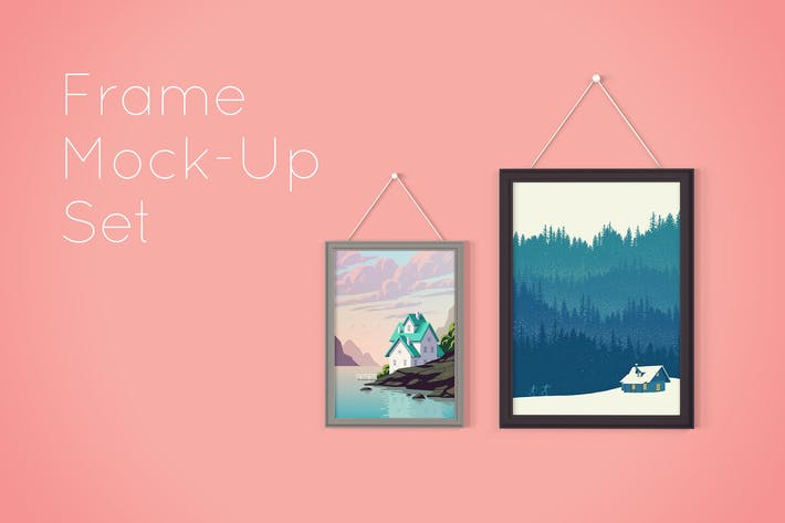Thumbnail for Picture Frame Mockup Set